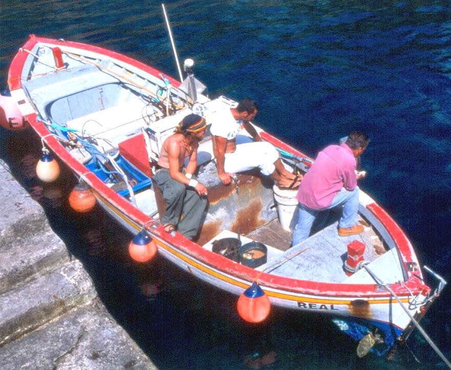 סירת דייג מסורתית