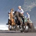 רכיבה על סוסים באיים האזוריים