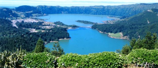 Sete Cidades האגמים