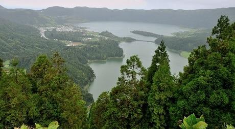 האגמים Sete Cidades - עותק