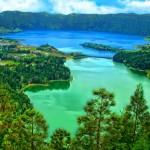 Sete Cidades – האגם הכחול והאגם הירוק