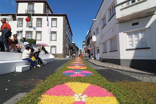 ההכנות לפסטיבל - סאו מיגל, פונטה דלגדה