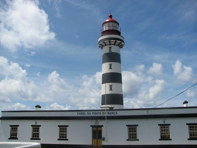 מגדלור Farol da Ponta da Barca גרסיוסה האיים האזוריים