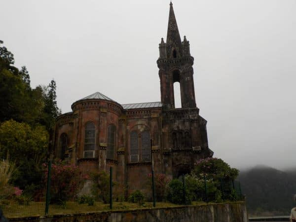 כנסיית Capela de Nossa Senhora das Vitórias בפארק פורנאש