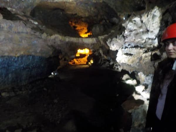אחד משלושת החללים של המערה