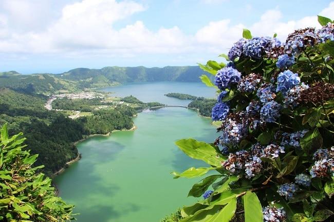 סטה סידדס האגמים בסאו מיגל