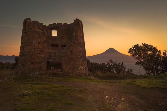 הנוף בדרך לפסגת הר פיקו